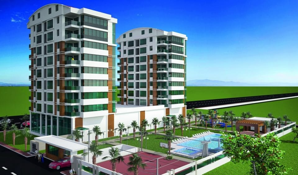 Apartments for sale in Antalya Turkey